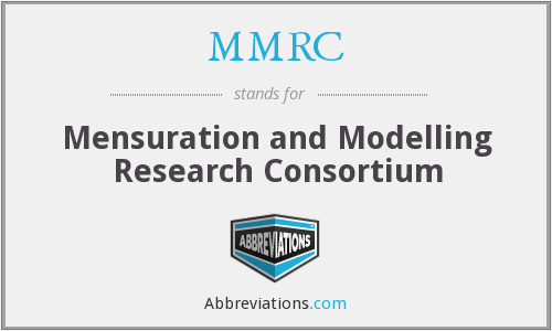 MMRC - Mensuration and Modelling Research Consortium