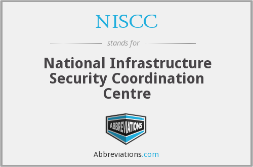 What does NISCC stand for?