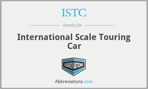 ISTC - International Scale Touring Car