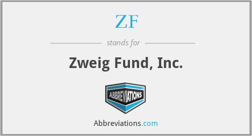 ZF - Zweig Fund, Inc.