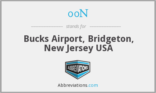 00N - Bucks Airport, Bridgeton, New Jersey USA
