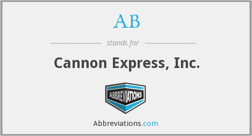 AB - Cannon Express, Inc.