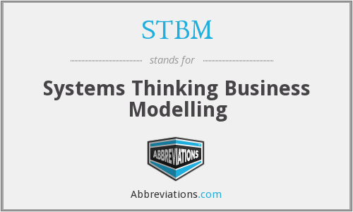 STBM - Systems Thinking Business Modelling