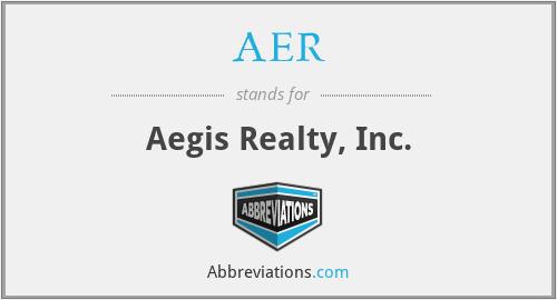 AER - Aegis Realty, Inc.