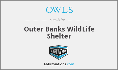 OWLS - Outer Banks WildLife Shelter