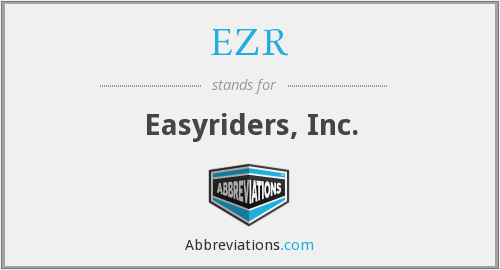 What does EZR stand for?