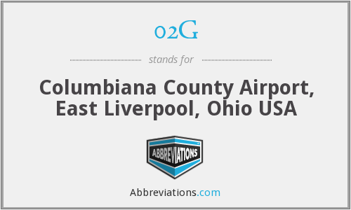 02G - Columbiana County Airport, East Liverpool, Ohio USA