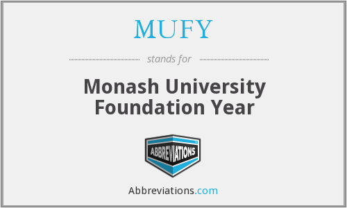 MUFY - Monash University Foundation Year