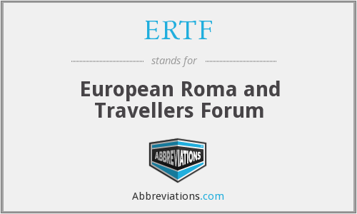 ERTF - European Roma and Travellers Forum