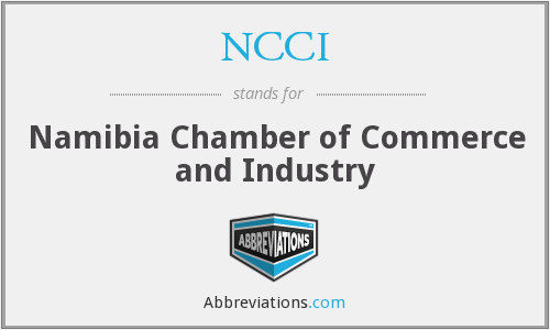 NCCI - Namibia Chamber of Commerce and Industry