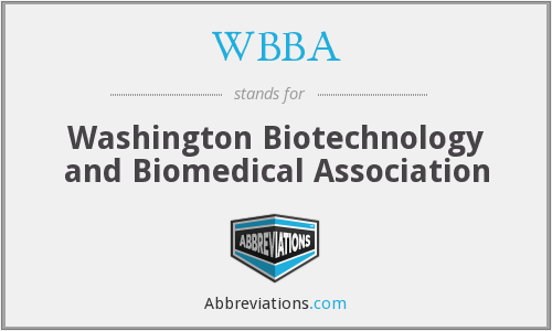WBBA - Washington Biotechnology and Biomedical Association