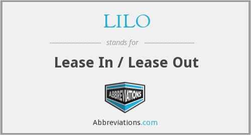 LILO - Lease In / Lease Out