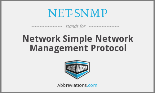 What does NET-SNMP stand for?