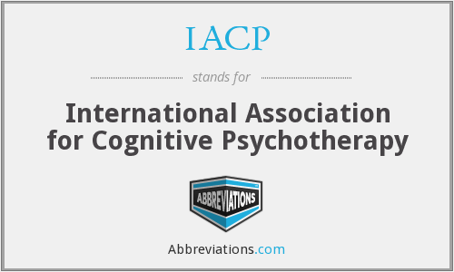 IACP - International Association for Cognitive Psychotherapy
