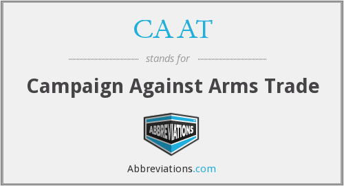 CAAT - Campaign Against Arms Trade