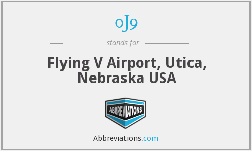 0J9 - Flying V Airport, Utica, Nebraska USA