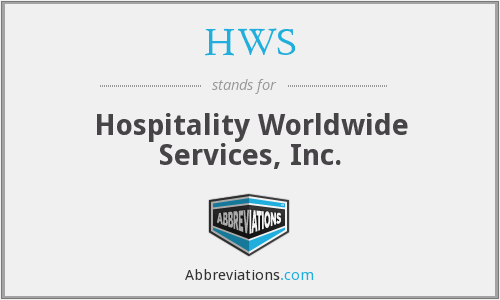 HWS - Hospitality Worldwide Services, Inc.