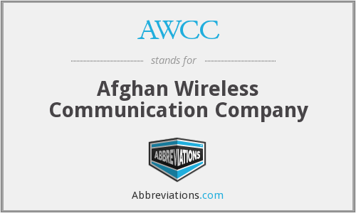 AWCC - Afghan Wireless Communication Company