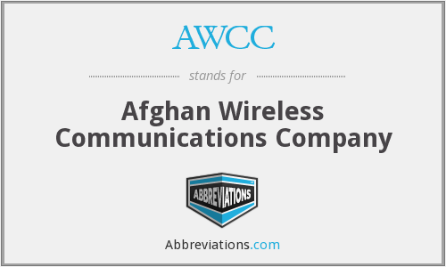 AWCC - Afghan Wireless Communications Company