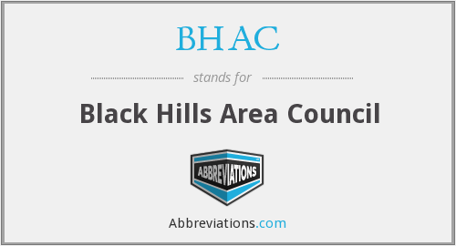 BHAC - Black Hills Area Council