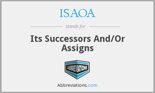 What does successors stand for?