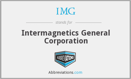 IMG - Intermagnetics General Corporation