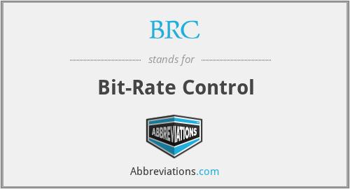 BRC - Bit-Rate Control