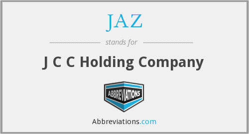 What does JAZ stand for?