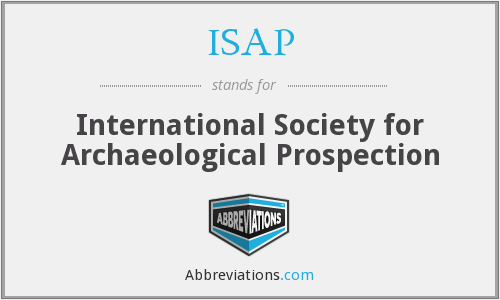 ISAP - International Society for Archaeological Prospection