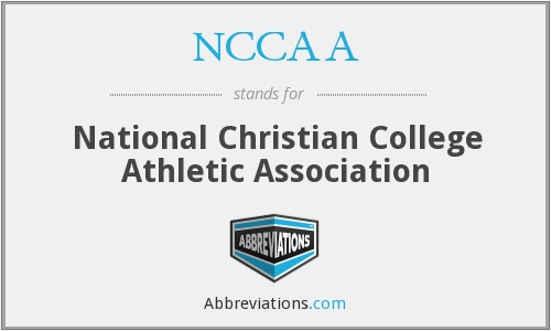 What does NCCAA stand for?