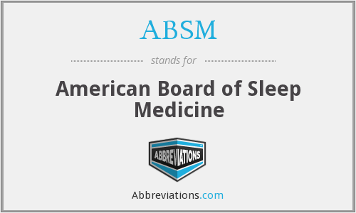 What does ABSM stand for?