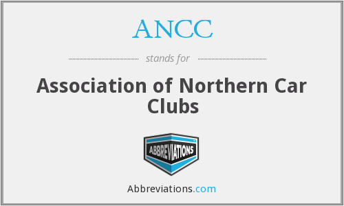 ANCC - Association of Northern Car Clubs