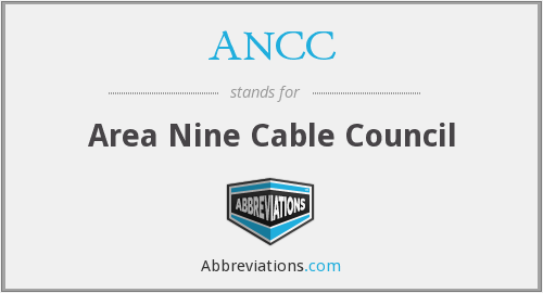 ANCC - Area Nine Cable Council