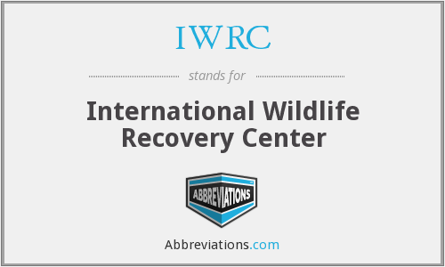 IWRC - International Wildlife Recovery Center