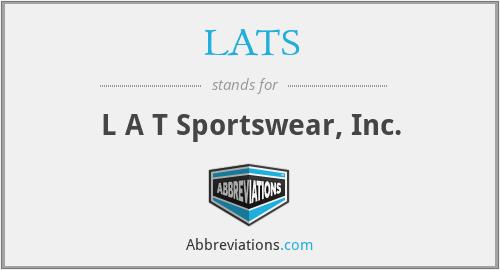LATS - L A T Sportswear, Inc.