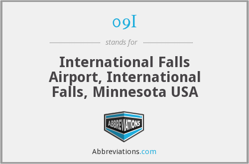 09I - International Falls Airport, International Falls, Minnesota USA