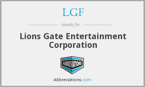What does LGF stand for?