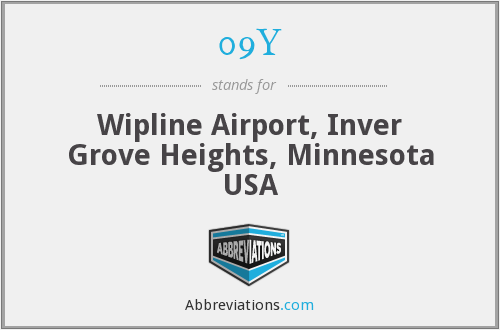 09Y - Wipline Airport, Inver Grove Heights, Minnesota USA