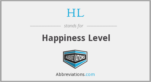 HL - Happiness Level