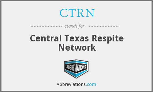 CTRN - Central Texas Respite Network