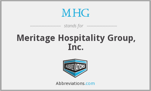 What does MHG stand for?
