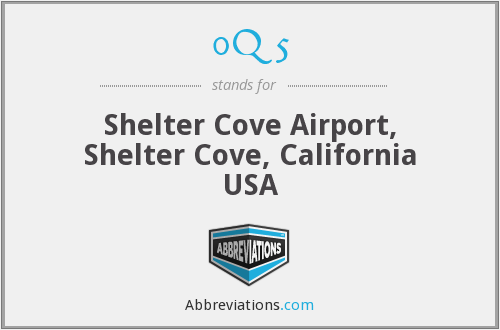 0Q5 - Shelter Cove Airport, Shelter Cove, California USA