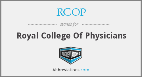 RCOP - Royal College Of Physicians