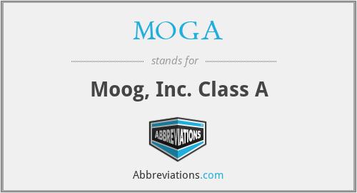 MOGA - Moog, Inc. Class A
