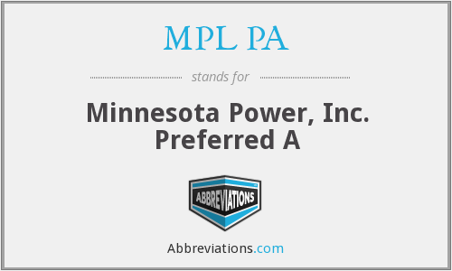 What does MPL PA stand for?