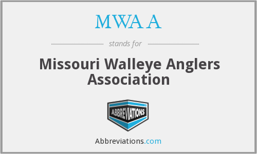 MWAA - Missouri Walleye Anglers Association