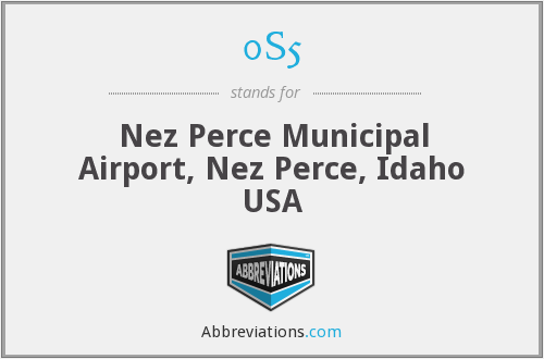 0S5 - Nez Perce Municipal Airport, Nez Perce, Idaho USA