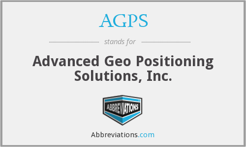 AGPS - Advanced Geo Positioning Solutions, Inc.