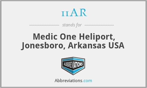 11AR - Medic One Heliport, Jonesboro, Arkansas USA