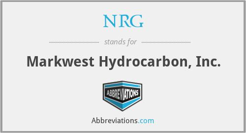 NRG - Markwest Hydrocarbon, Inc.